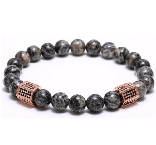 Agate Stone Cylinder Bracelets - More Styles Available - GuysDrawer.com - 4