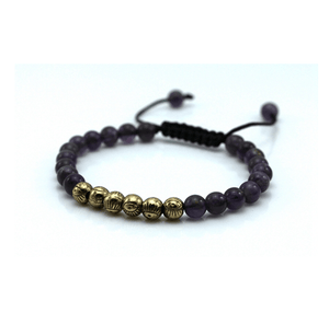 Micro String Natural Stone Bracelets - More Colours Available - GuysDrawer.com - 7