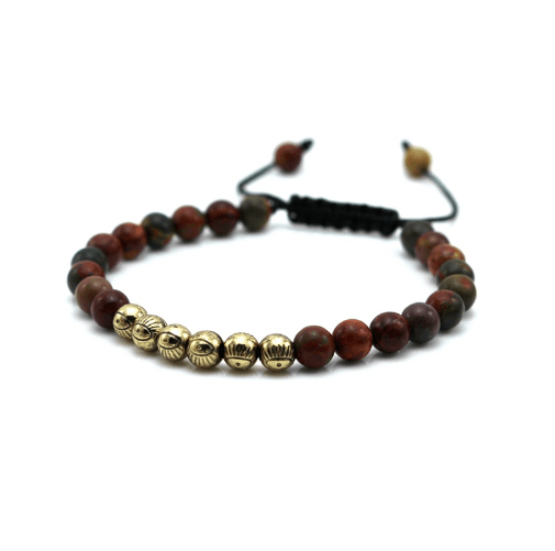Micro String Natural Stone Bracelets - More Colours Available - GuysDrawer.com - 5