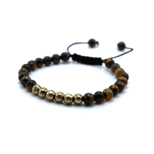 Micro String Natural Stone Bracelets - More Colours Available - GuysDrawer.com - 6