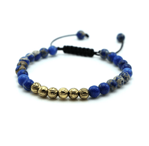 Micro String Natural Stone Bracelets - More Colours Available - GuysDrawer.com - 3