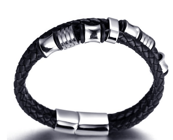 Honour Leather Bracelet - More Colours Available - GuysDrawer.com - 2