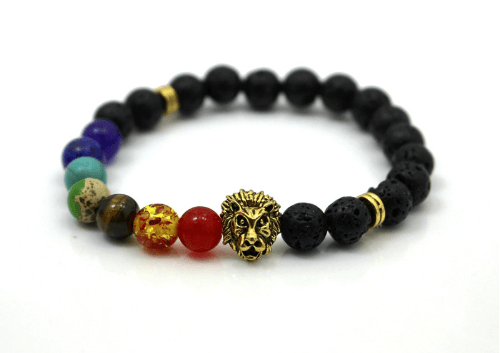 Sediment Stone and Lava Bracelets - More Styles Available - GuysDrawer.com - 5