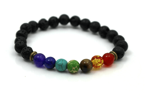 Sediment Stone and Lava Bracelets - More Styles Available - GuysDrawer.com - 6