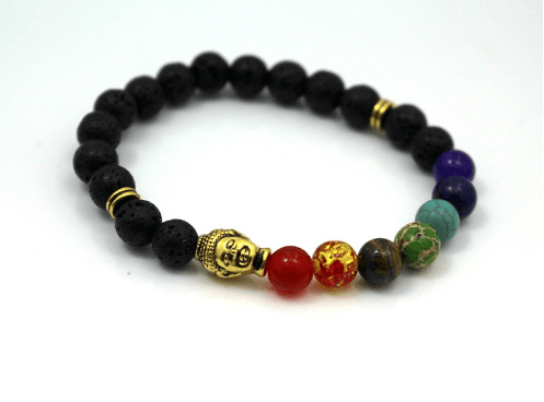 Sediment Stone and Lava Bracelets - More Styles Available - GuysDrawer.com - 8