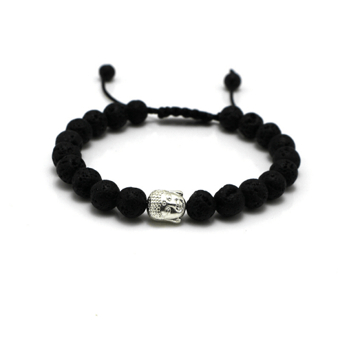 Buddha Head Lace Up Bracelets  - More Colours Available - GuysDrawer.com - 2