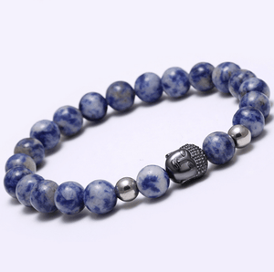 Agate Stone Buddha Head Bracelets - More Colours Available - GuysDrawer.com - 5