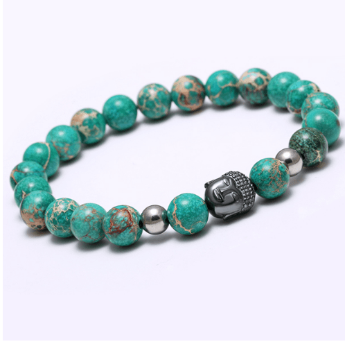 Agate Stone Buddha Head Bracelets - More Colours Available - GuysDrawer.com - 6