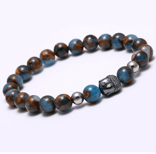 Agate Stone Buddha Head Bracelets - More Colours Available - GuysDrawer.com - 8