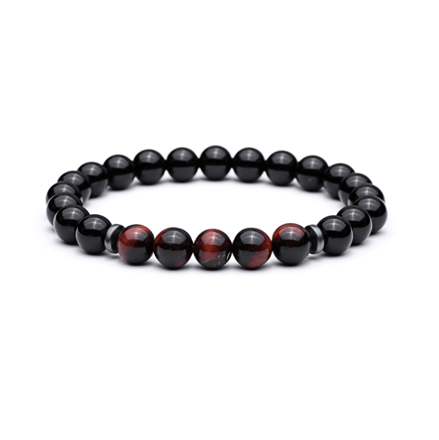 Onyx Bead Bracelets - More Colours Available - GuysDrawer.com - 2