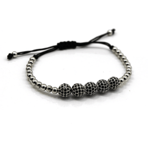Disco Ball Macrame Bracelets - More Colours Available - GuysDrawer.com - 1