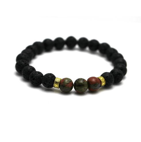 Earth and Lava Bracelets - More Styles Available - GuysDrawer.com - 5