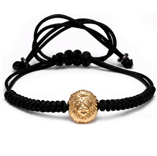 Lace Up Lion Head Bracelets - More Styles Available