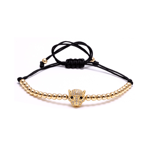 Black Panther Macrame Bracelets - More Styles Available - GuysDrawer.com - 5