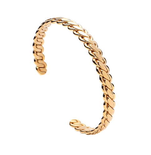 Twisted Chain Bangle - More Styles Available - GuysDrawer.com - 2