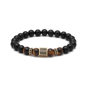 Onyx Hexagon Bracelets - More Colours Available