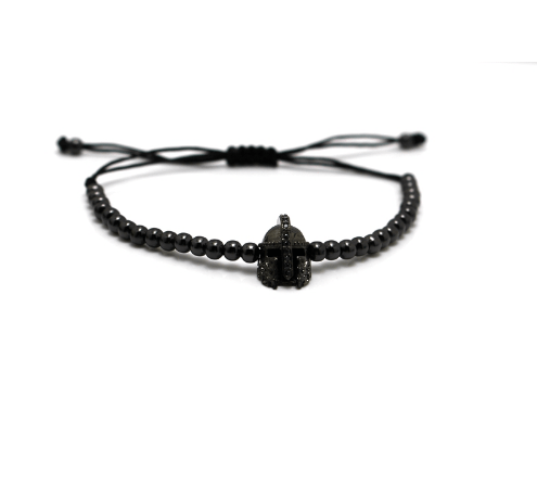 Helmet Lace Up Bracelets - More Styles Available - GuysDrawer.com - 2