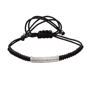 Braided Macrame Lace Up Bracelets - More Styles Available - GuysDrawer.com - 3