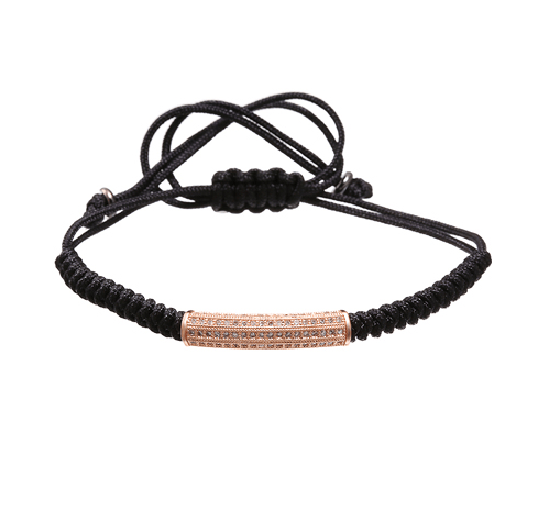 Braided Macrame Lace Up Bracelets - More Styles Available - GuysDrawer.com - 4