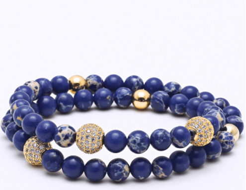 Jasper Stone Double Length Bracelets - More Styles Available