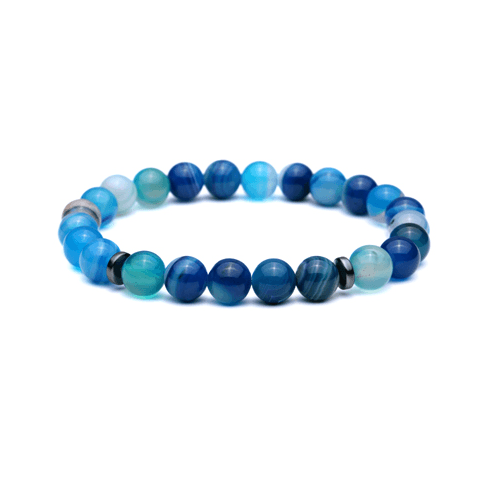 Onyx Bead Bracelets - More Colours Available - GuysDrawer.com - 3