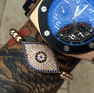 Turkish Blue Evil Eye Lace Up Bracelets - More Styles Available - GuysDrawer.com - 6