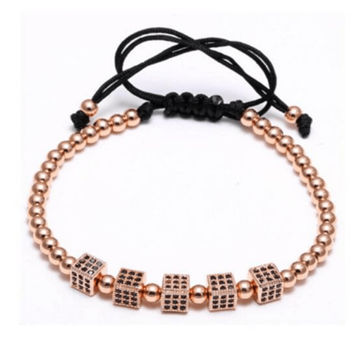 Zircon Squared Macrame Bracelets - More Styles Available