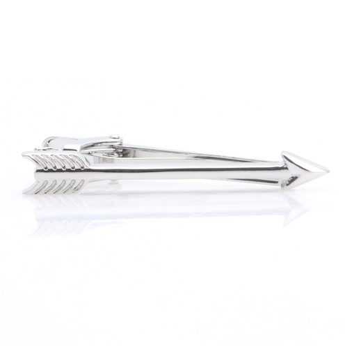 Arrow Tie Clips - Gold/ Silver - GuysDrawer.com - 1
