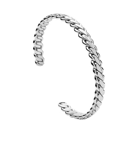 Twisted Chain Bangle - More Styles Available - GuysDrawer.com - 3