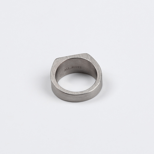 Titanium Squared Rings - More Styles Available - GuysDrawer.com - 2