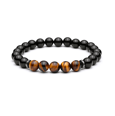 Onyx Bead Bracelets - More Colours Available - GuysDrawer.com - 4