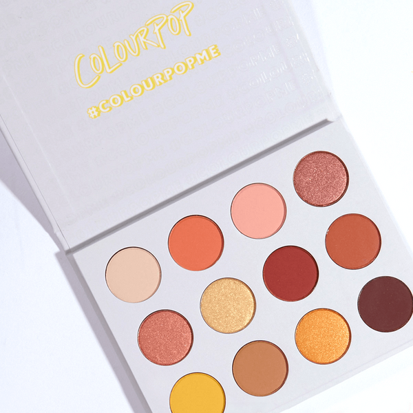 Colourpop Pressed Shadow Palette | Yes, Please!