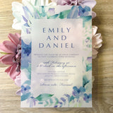 Emily Vellum Invitation