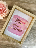 Always My Mum Forever My Friend Print