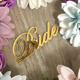 Laser Cut Acrylic Name Place Cards