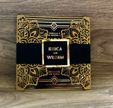 Black & Gold Art Deco Gatsby Invitation