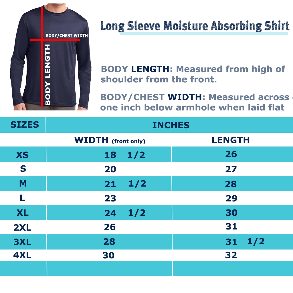 Long Sleeve Moisture Absorbing Shirt