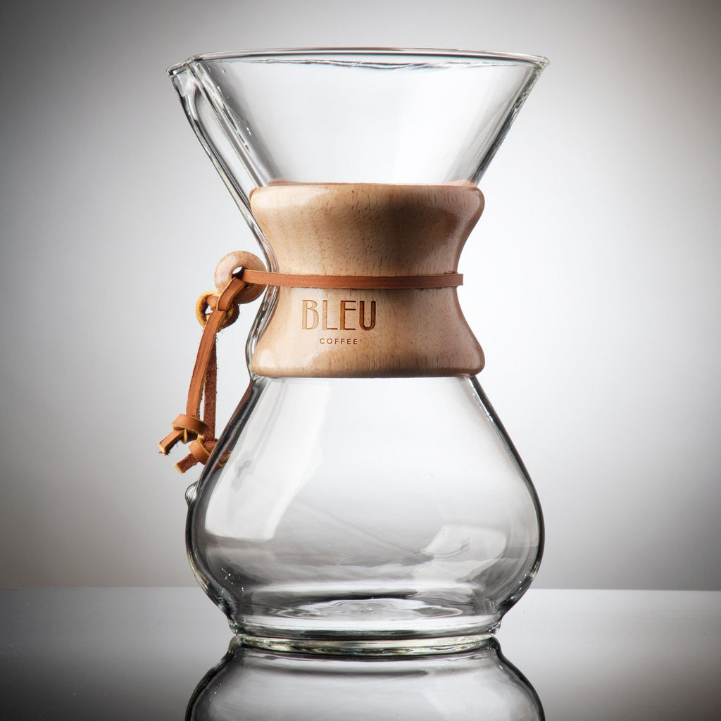 Limited Edition: Bleu Coffee Chemex Brewer
