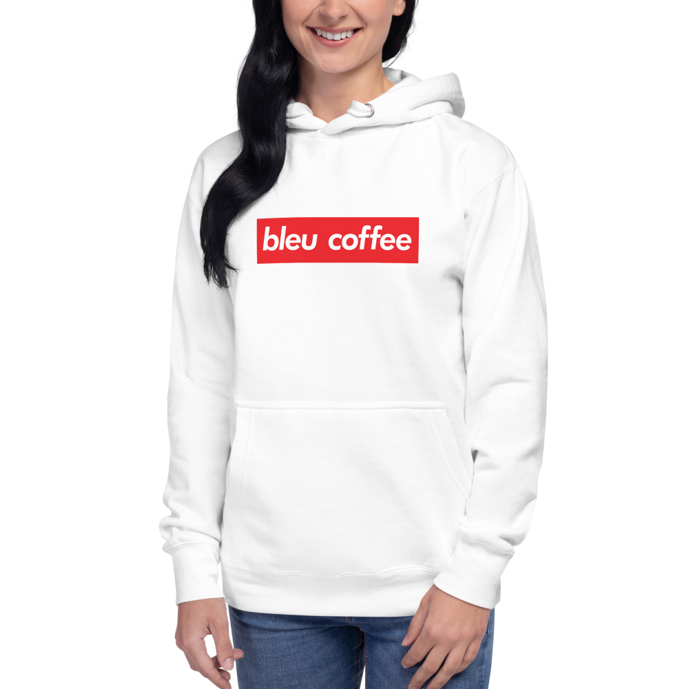 Bleu Coffee 5th Anniversary Box Logo Hoodie