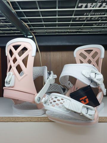UNION Milan Ladies medium bindings 2019 bindings Pink colour Medium size