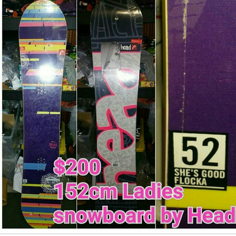 Head She's good FLOCKA ladies snowboard 152cm