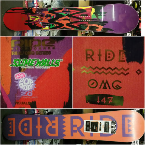 Ride OMG Ladies snowboard 147cm
