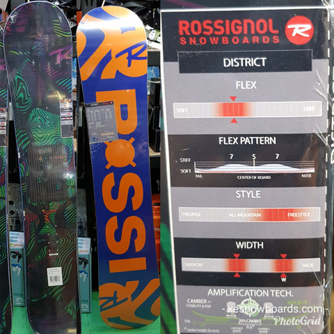 Rossignol DISTRICT 2018 model TOP BEGINNER board -146cm 151cm 156Wcm