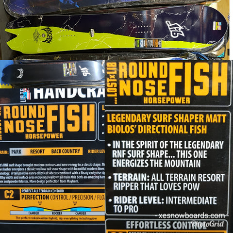 Lib Tech Lost X Mayhem Round Nose Fish Snowboard Review 159cm 2019 Model  **top pick**