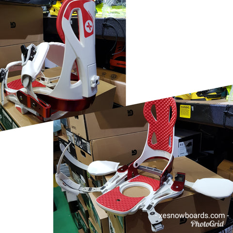 Launch TM Bindings Large STEP IN snowboard bindings
