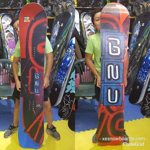 GNU HYAK (the old original carbon credit) 157cm 2019 model