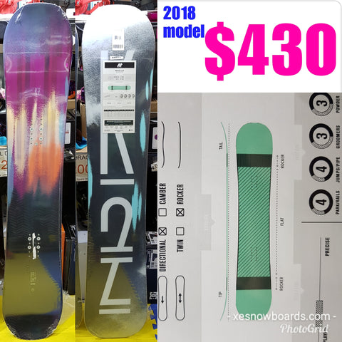 K2 bright Lite Ladies snowboard 146cm 2018 model
