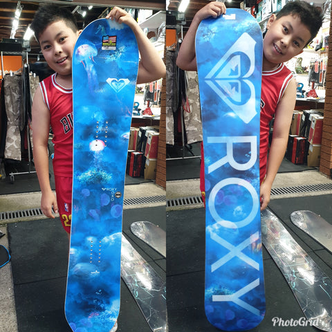 Roxy XOXO 145cm or 152cm 2019 model Aqua design