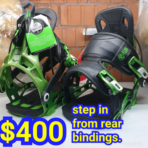 FLOW NX2 step in from the Rear Entry top end flow bindings US8 to US12 size