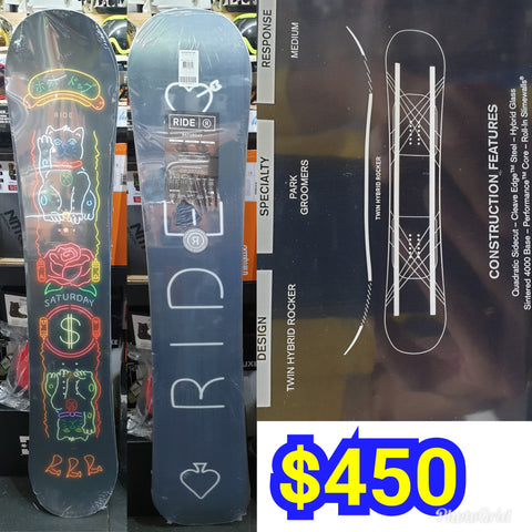 Ride Saturday Ladies snowboard 146cm 2019 model